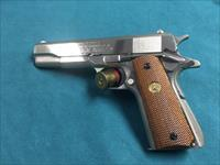 COLT GOVERNMENT MODEL SERIES 1980 NICKEL