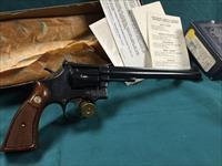 SMITH AND WESSON 48-3 LIKE NEW IN ORIGINAL BOX