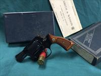 SMITH AND WESSON MODEL 37 LNIB 1976-77