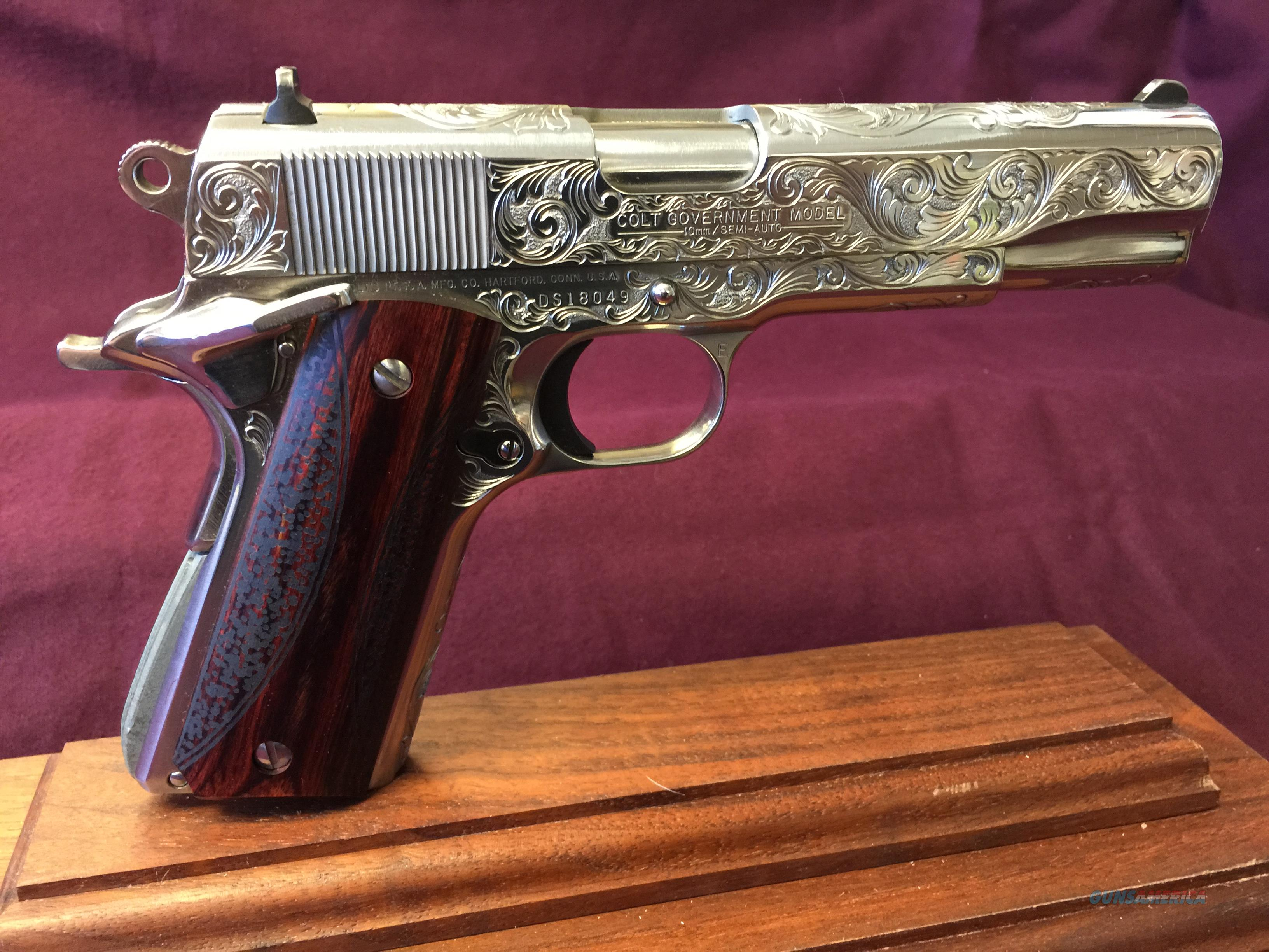 Colt Delta Elite Custom Engraved and Polished 1 for sale