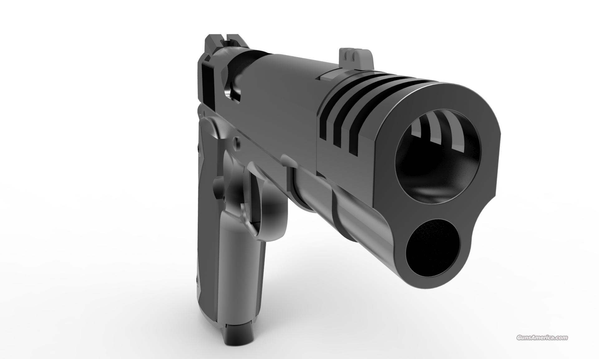 Acp muzzle brake stainless steel compe for sale
