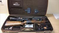Blaser R8 Rifle 270 Wby and case and accessories