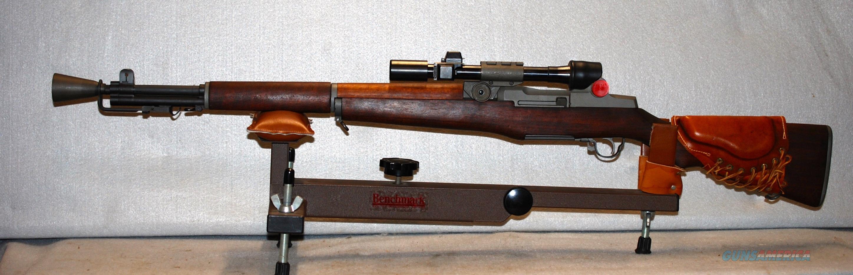 M1 Garand rifle vinyl decal 3 x 6 olive drab