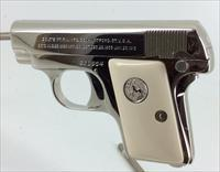 Colt .25 ACP Bright Nickel