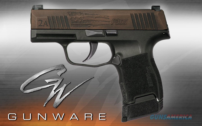 Sig Sauer P365 9mm Custom Engraving