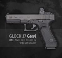 Glock 17 Gen4 GEN 4 MOS NEW  9MM Optics Ready