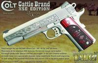 COLT CATTLE BRAND O1092XSE XSE LAST COWBOY 9MM 1/300