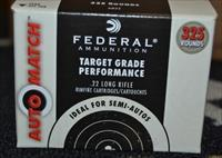 Federal AutoMatch .22LR Case of 3250 Rounds AM22