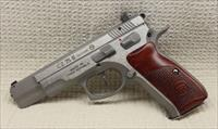 CZ 75B 9mm Stnls Cocobolo Grips Ltd Edition 91125