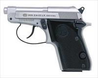 Beretta Bobcat INOX J212500 .22 + Walnut Medallion Grips