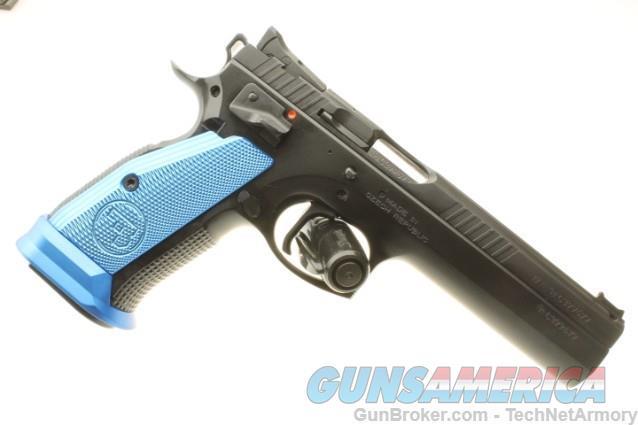 CZ Tactical Sport BLUE 9MM 91264 (Like TS Orange)