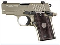 SIG P238 Nickle Wood NS .380ACP 238-380-HD-NI SALE