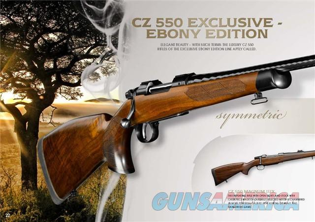 Cz 550 ebony edition for sale