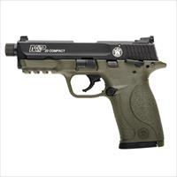 S+W M&P 22 Compact Threaded FDE .22LR NEW 10242
