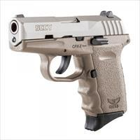 SCCY CPX-2 TTDE FDE / Stainless 9MM NEW