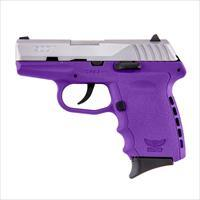 SCCY CPX-2 CPX2 TT PU 9MM Purple/SS FREE HOLSTER