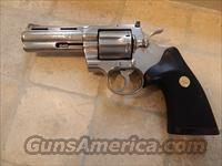 "Colt Python 4"" Brushed Stainless 98%"