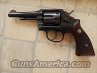 S&W .32 Military Police Pre model 10 with a C