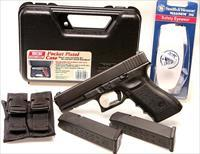 Glock Austrian 22 Gen 3, Like New With Case, 2 factory Mags with pouches, & glasses - Like New