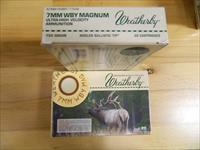 Weatherby 7MM WBY Magnum  150 grain Nosler 2X20=40 rds