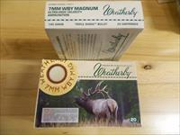Weatherby 7MM WBY Magnum 140Gr  4X20=80 rounds