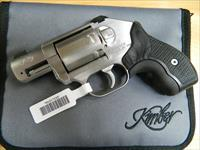 Kimber K6S Brushed Stainless w/ Crimson Trace Master Series laser grips