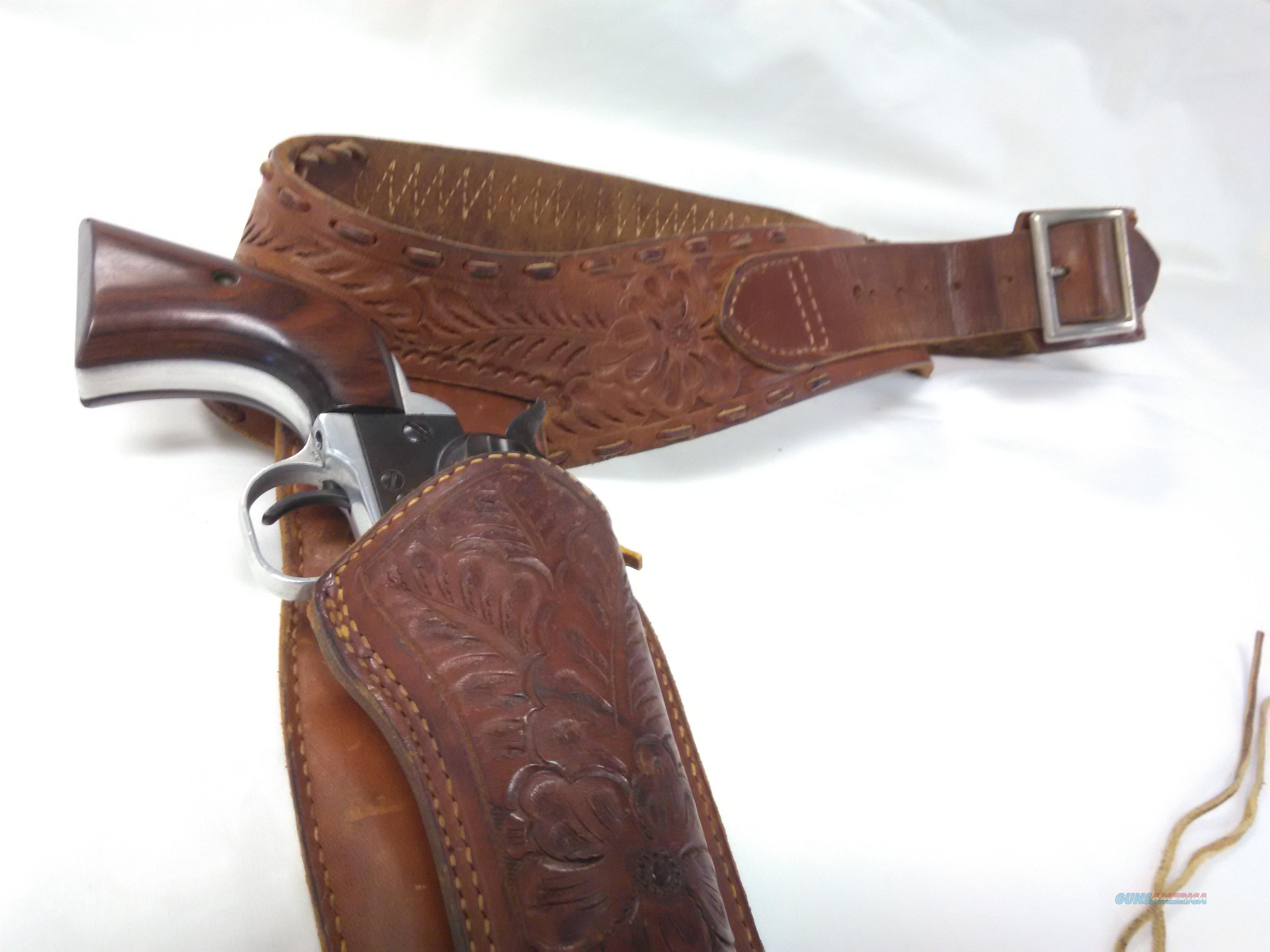 1954 Ruger Flat Gate Single Six With Holster 4 Digit Serial Number