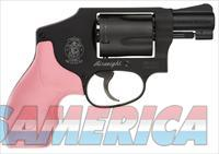 Smith and Wesson Model 442 .38sp pink grp