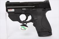 Smith and Wesson Shield 9mm 3.1in Crimson Trace Laser