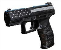 Walther PPQ M2 9mm 4in Black Blue Line