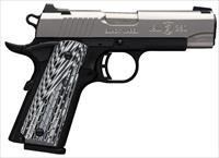 Browning 1911-380 Black Label Pro SS Compact .380acp