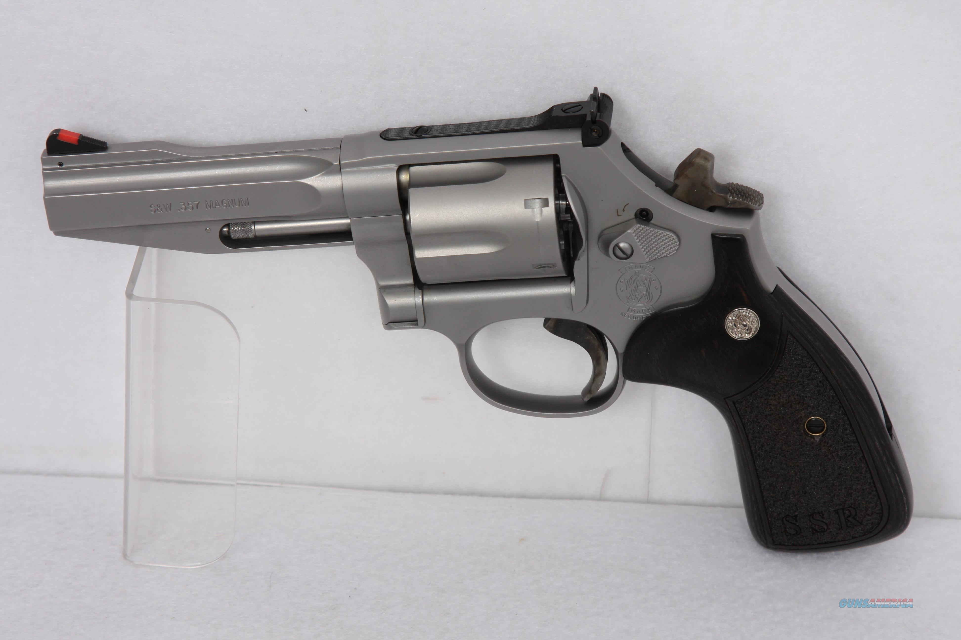 SW 686 SSR 357 4in SS Guns Pistols Smith Wesson Revolvers
