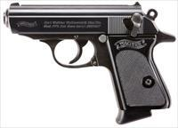 Walther PPK Pistol 380 ACP 3.3 in. Black 6 rd.