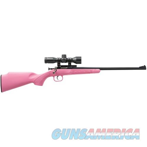 Crickett Rifle  22lr Package Pink with Scope