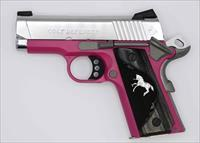 Colt Defender 9mm 3in Stainless Raspberry
