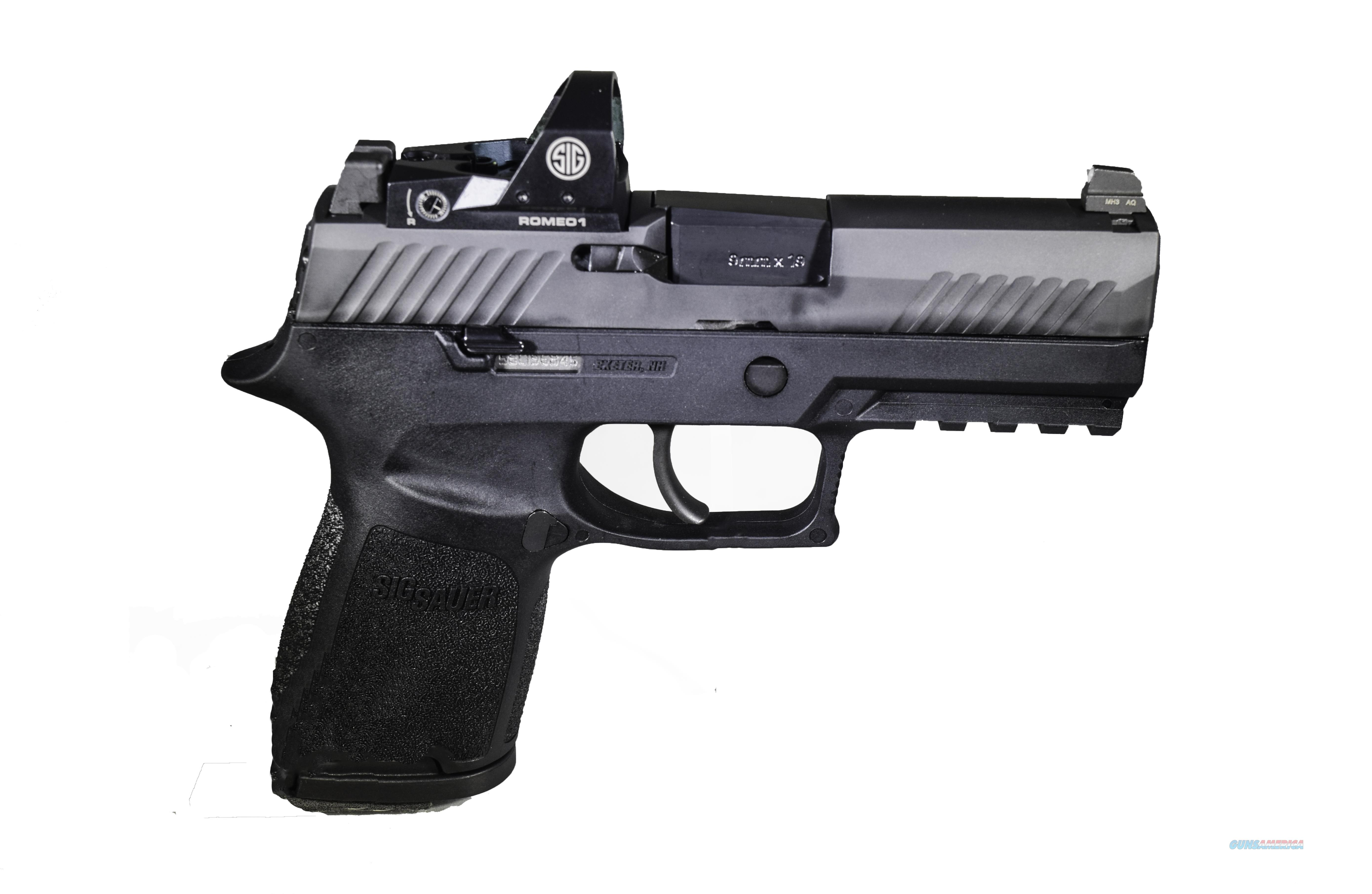 Sig Sauer P320 RX Compact 9mm