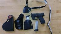 Smith & Wesson M&P Shield 9mm with LaserLyte sight and many extras