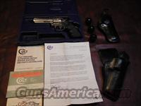 Colt King Cobra Enhanced 357mag 4 inch box, papers and extras