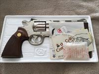 As New (only a few test fires)  Nickel Colt Python 1970's