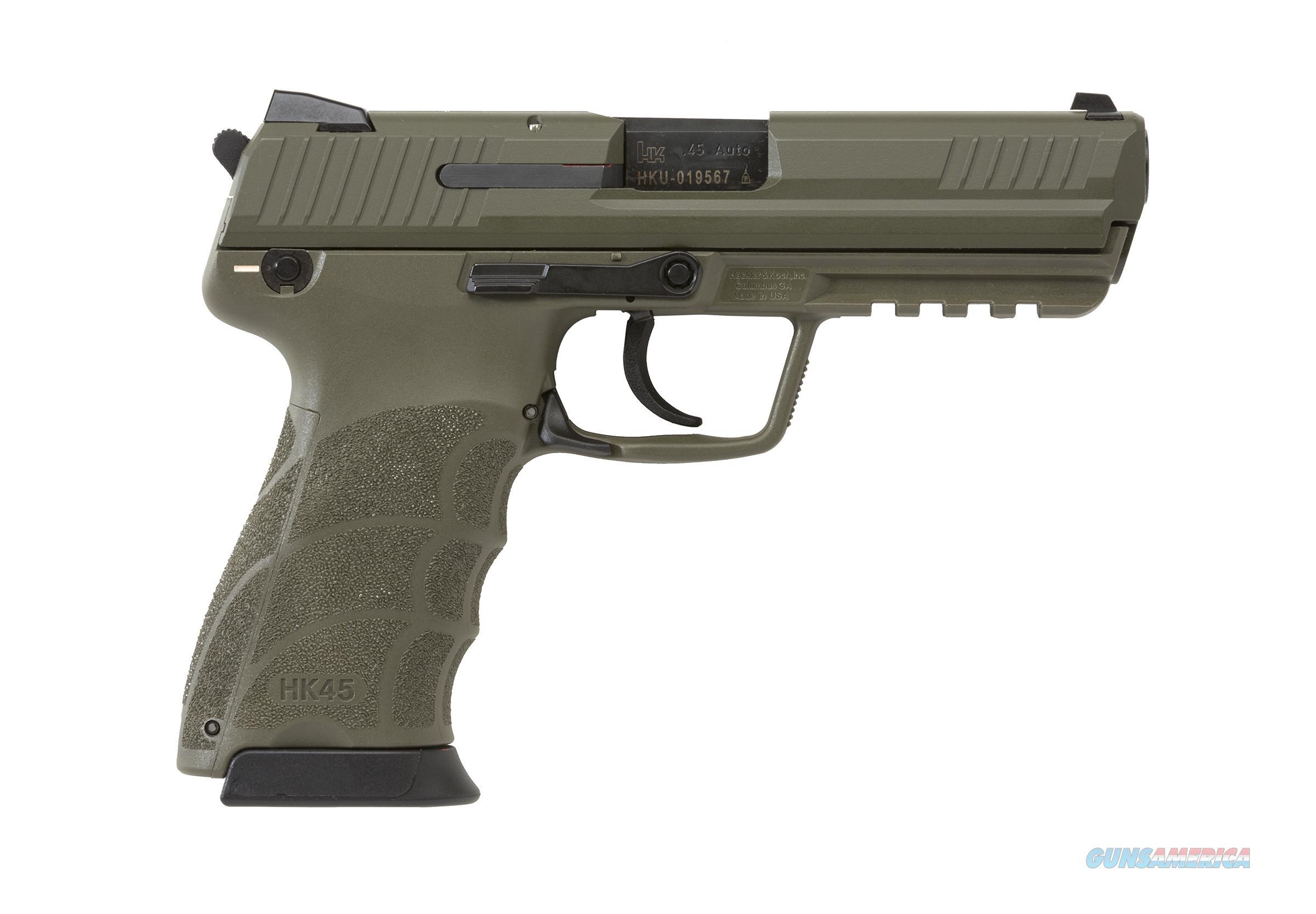 HECKLER & KOCH HK45-V1 .45ACP OD GREEN for sale