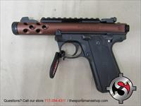 Ruger 22/45 Lite 22LR Threaded BBL Bronze