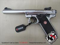 "Ruger Mark IV Target .22 Long Rifle 5.5"" Bull Barrel"