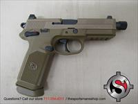 FNH FNX-45 Tactical .45 ACP 5.3 Inch Threaded BBL