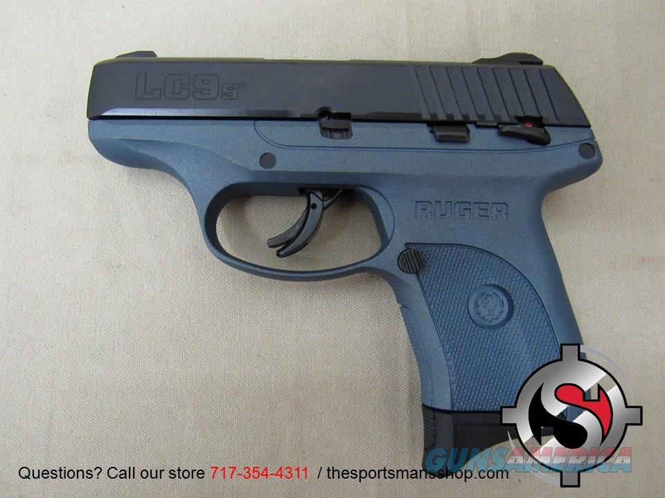 Ruger LC9s 9mm in Blue Titanium Color Guns > Pistols > Ruger Semi-Auto Pistols