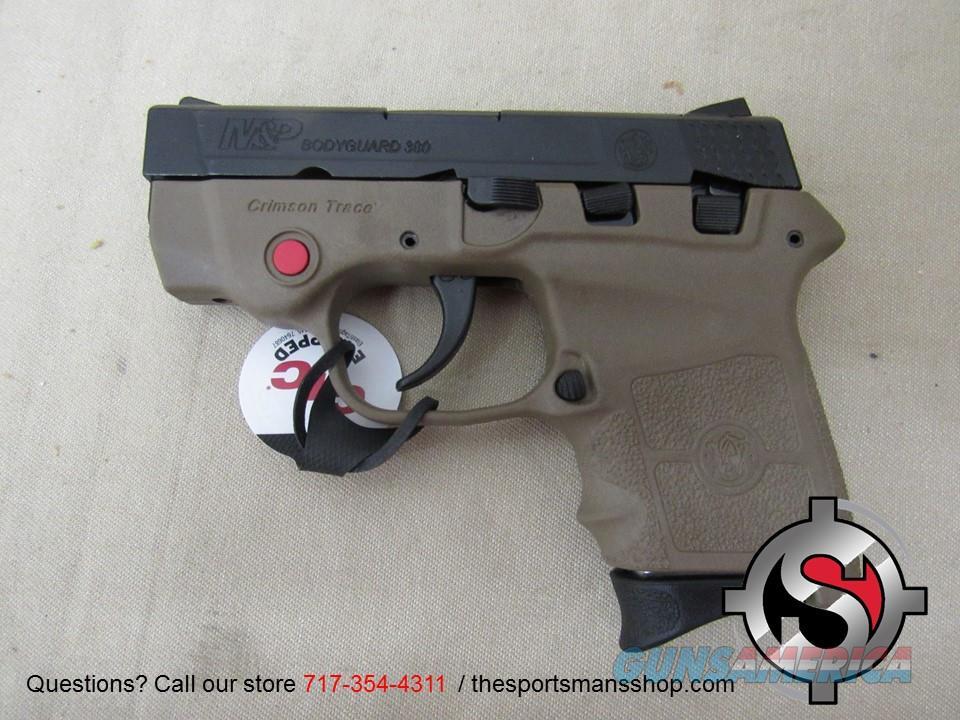 S&W Bodyguard 380 FDE w Red Laser *NEW*