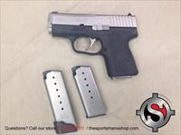 Kahr PM9 9mm Pistol w extra Magazines Used, Very Clean
