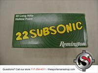 Remington 22LR Subsonic Brick of Ammo 500 rounds New