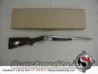 Stoeger Coach Gun 12 Gauge Nickel Side by Side Shotgun!
