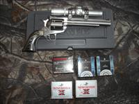 RUGER SUPER BLACKHAWK HUNTER 41 MAG W/SCOPE AND AMMO
