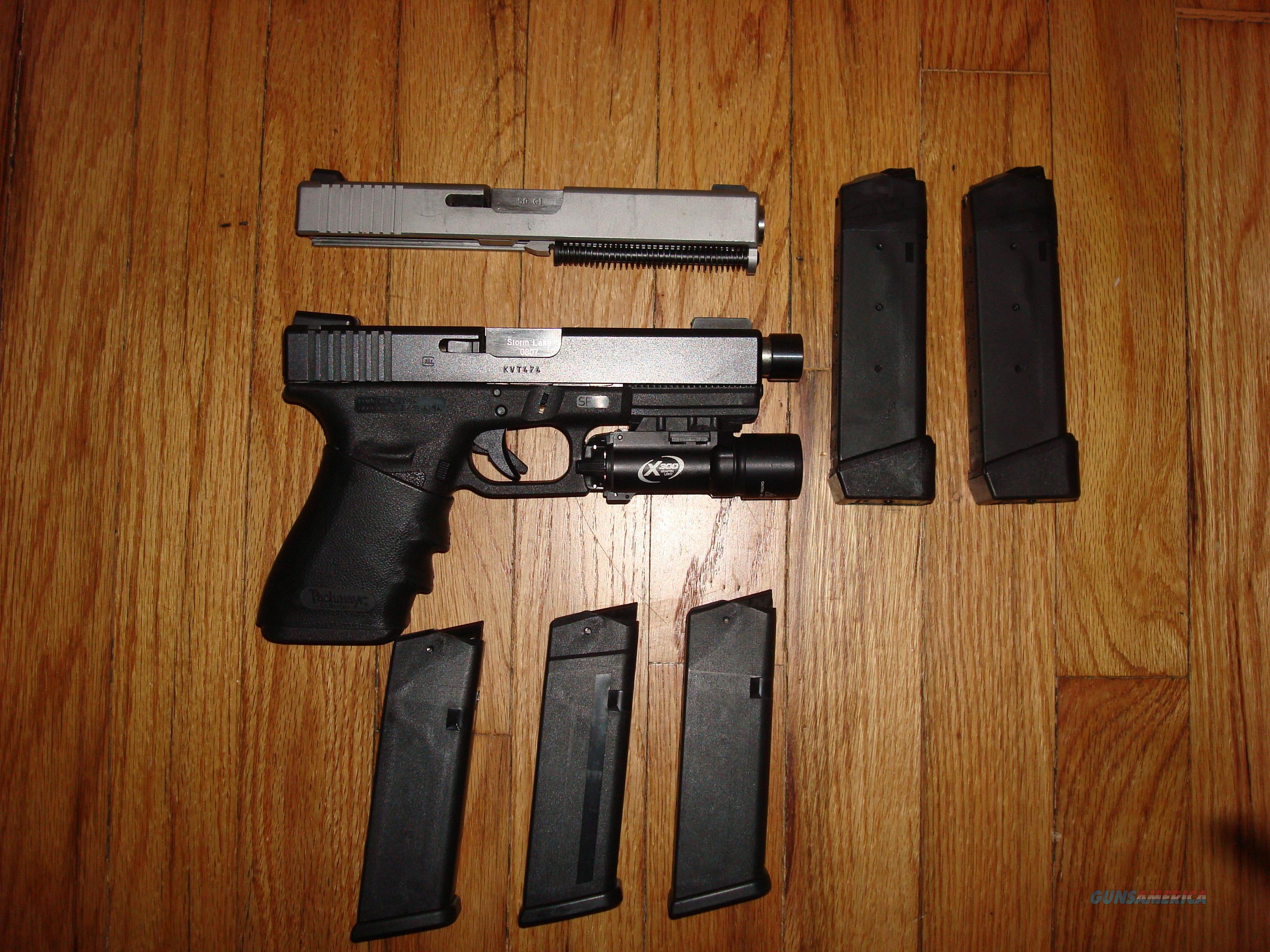 Glock 21  45 W/ GUNCRAFTER - 50 GI CONVERSION SYSTEM